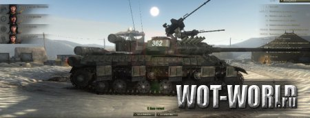 Пустынный ангар для World Of Tanks