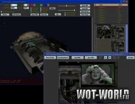 Wot mod editor (Редактор объектов World of Tanks) 9.14 и 9.14