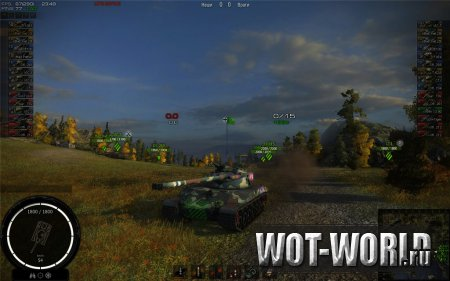 WOT-MOD Project 3.6 Light  для World Of Tanks 9.14 и 9.14