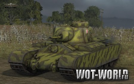 АТ 2 в World of Tanks